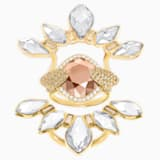 Odysseia Motif Ring, Multi-colored, Gold-tone plated - Swarovski, 5474424