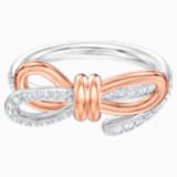 Lifelong Bow Кольцо, M, Белый Кристалл, Отделка из разных металлов - Swarovski, 5474931