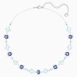 Olive Necklace, Multi-coloured, Rhodium plated - Swarovski, 5480481