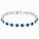 Angelic Браслет, Синий Кристалл, Родиевое покрытие - Swarovski, 5480484