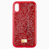Glam Rock Smartphone Case, iPhone® XR, Red - Swarovski, 5481449
