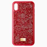 Funda para smartphone Glam Rock, iPhone® XS Max, rojo - Swarovski, 5481454