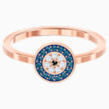 Luckily Ring, Multi-colored, Rose-gold tone plated - Swarovski, 5482494