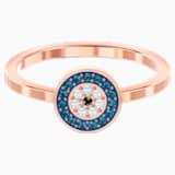 Prsten Luckily, Vícebarevný, Pozlacený růžovým zlatem - Swarovski, 5482494