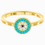 Luckily Ring, Multi-coloured, Gold-tone plated - Swarovski, 5482515
