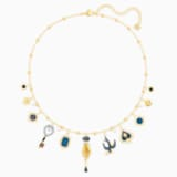 Tarot Magic Necklace, Multi-coloured, Gold-tone plated - Swarovski, 5482976