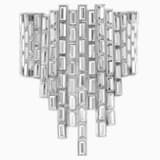 Fluid Azzurro 手鏈, 灰色, 鍍鈀色 - Swarovski, 5483204
