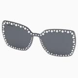 Swarovski Click-on Modelle für Sonnenbrillen, SK5330-CL 16A, grau - Swarovski, 5483813