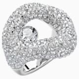 Tigris Ring, Gray, Palladium plated - Swarovski, 5483923