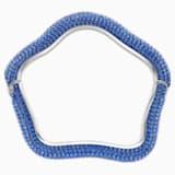 Braccialetto Tigris, azzurro, Placcatura in palladio - Swarovski, 5484199