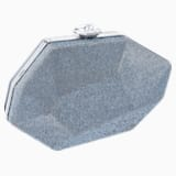 Marina Bag, Blue, Palladium plating - Swarovski, 5484251