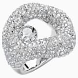 Tigris Ring, Grey, Palladium plated - Swarovski, 5484504