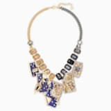Chromancy Necklace, Multi-colored, Mixed metal finish - Swarovski, 5486027