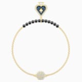 Swarovski Remix Collection Spade Strand, Multi-coloured, Gold-tone plated - Swarovski, 5486590
