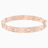 Penélope Cruz MoonSun többsoros karkötő, fehér színű, rozéarany árnyalatú bevonattal - Swarovski, 5486623