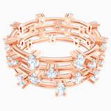 Penélope Cruz Moonsun többrészes gyűrű, fehér, rozéarany árnyalatú bevonattal - Swarovski, 5486804
