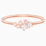 Penélope Cruz Moonsun Ring, White, Rose-gold tone plated - Swarovski, 5486819