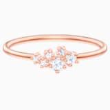 Penélope Cruz Moonsun Ring, White, Rose-gold tone plated - Swarovski, 5486820