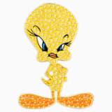 Spillo da cravatta Looney Tunes Titti, giallo, Placcato oro - Swarovski, 5487641