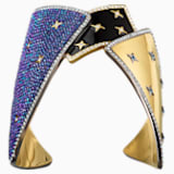 Chromancy Cuff, Multi-colored, Mixed metal finish - Swarovski, 5489074