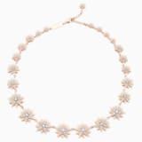 Collar Penélope Cruz Moonsun, Edición Limitada, blanco, Baño en tono Oro Rosa - Swarovski, 5489773