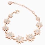 Penélope Cruz Moonsun 手鏈, 限量發行產品, 白色, 鍍玫瑰金色調 - Swarovski, 5489777