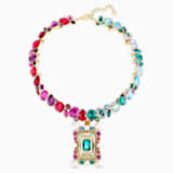 Vintage Opulescence Necklace, Multi-colored, Gold-tone plated - Swarovski, 5490214
