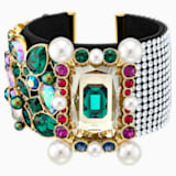 Vintage Opulescence Cuff, Multi-colored, Gold-tone plated - Swarovski, 5490233