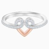 My Hero Motif Ring, White, Mixed metal finish - Swarovski, 5490502