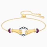 Tarot Magic Bracelet, Multi-colored, Gold-tone plated - Swarovski, 5490914