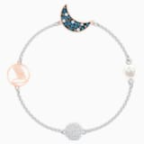 Swarovski Remix Collection Moon Strand, Multi-coloured, Mixed metal finish - Swarovski, 5490934