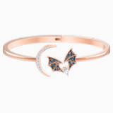 Prosperity Bangle, Multi-colored, Rose-gold tone plated - Swarovski, 5491561