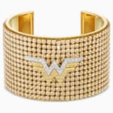 Manchette Fit Wonder Woman, ton doré, finition mix de métal - Swarovski, 5492145