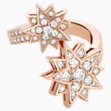 Penélope Cruz Moonsun 戒指, 限量發行產品, 白色, 鍍玫瑰金色調 - Swarovski, 5493036
