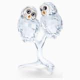 フクロウ(2羽セット) - Swarovski, 5493722