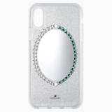 Black Baroque Smartphone Case, iPhone® X/XS, Grey - Swarovski, 5494431