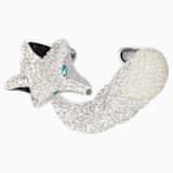 Polar Bestiary Cuff, Multi-coloured, Rhodium plated - Swarovski, 5497662