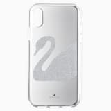 Étui pour smartphone Swan, iPhone® X/XS, gris - Swarovski, 5498552