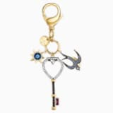 Tarot Swallow Bag Charm, Multi-coloured - Swarovski, 5498748