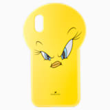 Funda para smartphone Looney Tunes Piolín, iPhone® X/XS, amarillo - Swarovski, 5499820