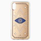 Tarot Eye Smartphone Case, iPhone® X/XS, Pink Gold - Swarovski, 5499821