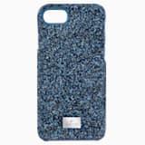 High Smartphone Case with integrated Bumper, iPhone® 8, Blue - Swarovski, 5503537
