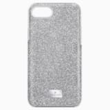 High Smartphone Case with integrated Bumper, iPhone® 8, Grey - Swarovski, 5503548