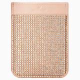 Nálepka na chytrý telefon – kapsička, Swarovski, růžové zlato - Swarovski, 5504673
