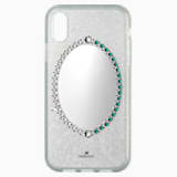 Étui pour smartphone Black Baroque, iPhone® XR, gris - Swarovski, 5504674