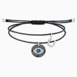 Unisex μπρασελέ Evil Eye, πολύχρωμο, ανοξείδωτο ατσάλι - Swarovski, 5504679