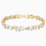 Louison 手链, 白色, 镀金色调 - Swarovski, 5505863