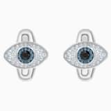 Unisex Evil Eye Cufflinks, Multi-colored, Stainless steel - Swarovski, 5506081