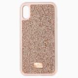 Glam Rock-smartphone-hoesje, iPhone® XR, Roze-goud - Swarovski, 5506306