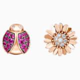 Just Myself Ladybug and Sunflower Earrings - Swarovski, 5506564